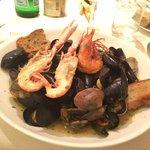 Soupe de fruits de mer !!