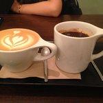Cappuccino & americano