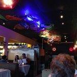 Colorful Sesame Grill interior