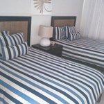 buena habitación en villa de un piso, cómoda y elegante