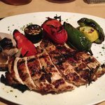Grilled chicken K-Bob.  Excellent!
