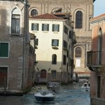 View of B&B from Strada Nuova.