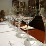 Tasting at Luigi Bosca follows an extensive tour of their facility.