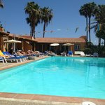 Poolside rooms at Los Almendros