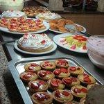 Un des buffets de desserts
