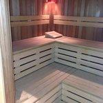 Ensuite sauna!