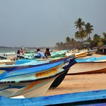 fisherboats at the beach