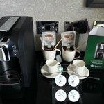 Starbucks Coffee Machine in room