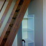 rangement, escalier mezz