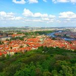 Prague from Petrin