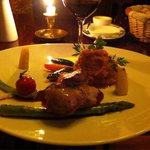 Duck with sweetpotato mash, deliciuos