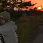 Our tracker Julius at sunrise
