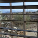 Blick aus dem Fenster Zimmer Nr 9