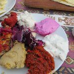 A selection of mezze