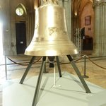 The over 1100 kg bell in honour of the 70th anniversary of D-Day