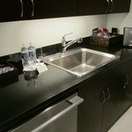 Kitchen of Executive City View Suite