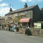 The tea rooms and village store