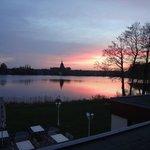 Evening view to Mölln village