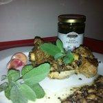 agnello tartufato
