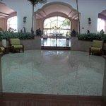 Elegant lobby.