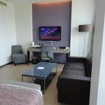Sitting/desk area in Junior Suite