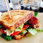 Grilled BLT on house made sourdough- better than Merritt's, this is my new favorite !