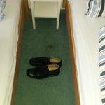 Verdreckter Teppich