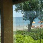 widok na plaże