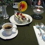 Кипрский кофе и десерт