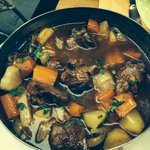 The lamb stew. Totally Devine.