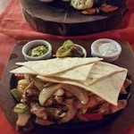 Chicken fajita. Super.