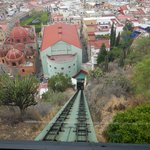 The Funicular into the Center of town