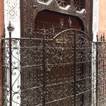 door to the riad