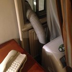 air conditioning extraction duct in your room