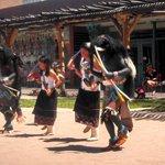 The Acoma dancers