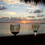 Sunset at Hampton Inn Key Largo