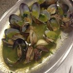 Mussels(starter), very salty ...