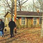 Turkey Ridge Cottage above the river