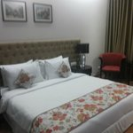 King-size Bed with Good Interiors