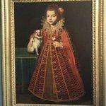 Ritratto di una bimba con cagnolino di Pier Francesco Cittadini