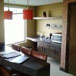 Coyote suite: kitchenette