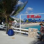Ocean Terrace Restaurant View toward Beach