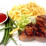 Wood Grilled Steak (Medium Cooked)