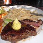 A especialidade da casa:carne