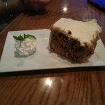 the HUGE drunken parrot carrot cake