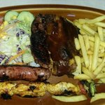 The mixed grill.