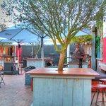 Our stunning courtyard - Baretta Bar & Restaurant