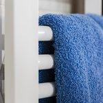 Handtuchwärmer in ausgewählten Bädern