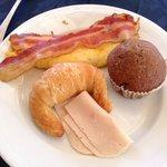 Variedade no café da manhã no El Mirador