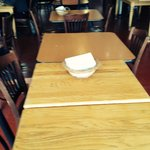 Smaller and larger tables available